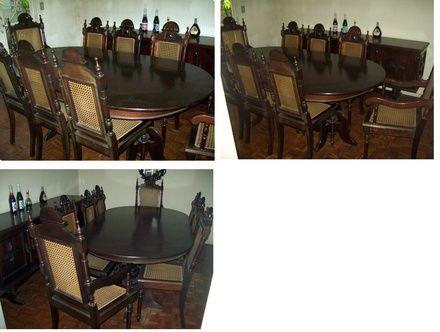 decoração moderna com cadeiras colonial - Pesquisa Google