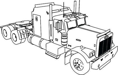 Dibujos De Trailers Para Colorear Imagenes De Camiones Para Pintar Blogicars Autos Carros Coches Carros Para Colorear Dibujos De Coches Camiones Grandes