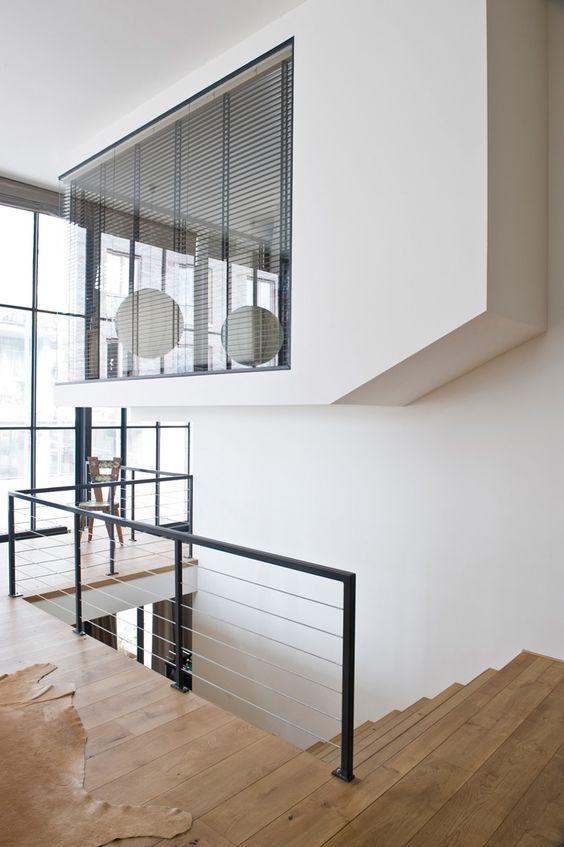 verri re et mezzanine deco pinterest escaliers balustrades et mezzanine. Black Bedroom Furniture Sets. Home Design Ideas