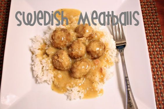Foodie Friday : Swedish Meatballs