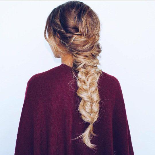 hair do + chunky braid