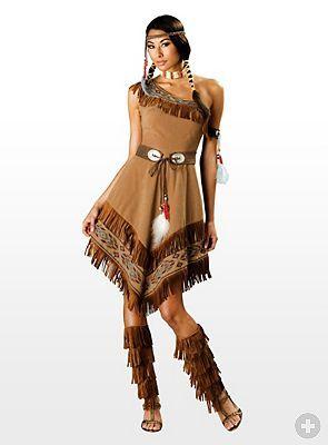 Indianerin Kostüm - maskworld.com