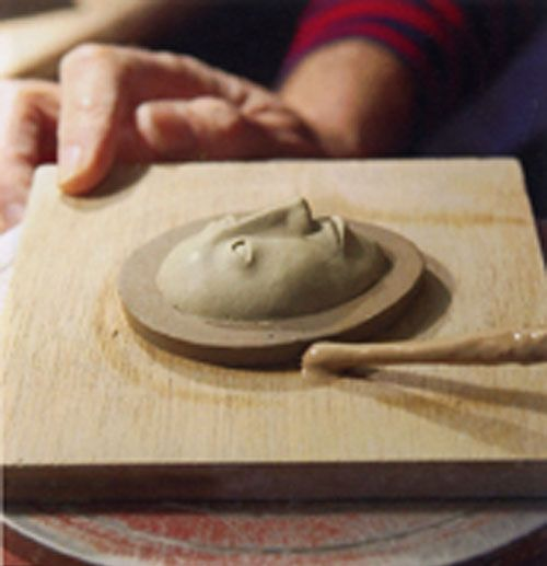 Making And Using Plaster Press Molds For Making Small