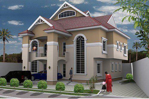 3 Bedroom Duplex Designs In Nigeria Duplex Design Duplex House Design House Layout Plans