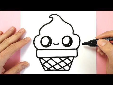 Comment Dessiner Une Glace Dans Un Pot Kawaii Youtube в