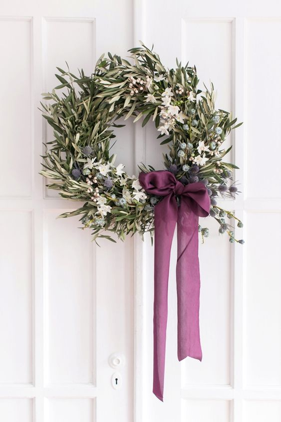 wedding wreath: