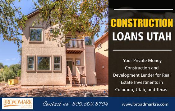 Construction Loans Utah