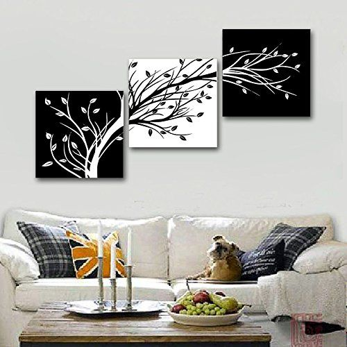 Amazon Com Wieco Art 3 Piece Canvas Prints Wall Art For Living