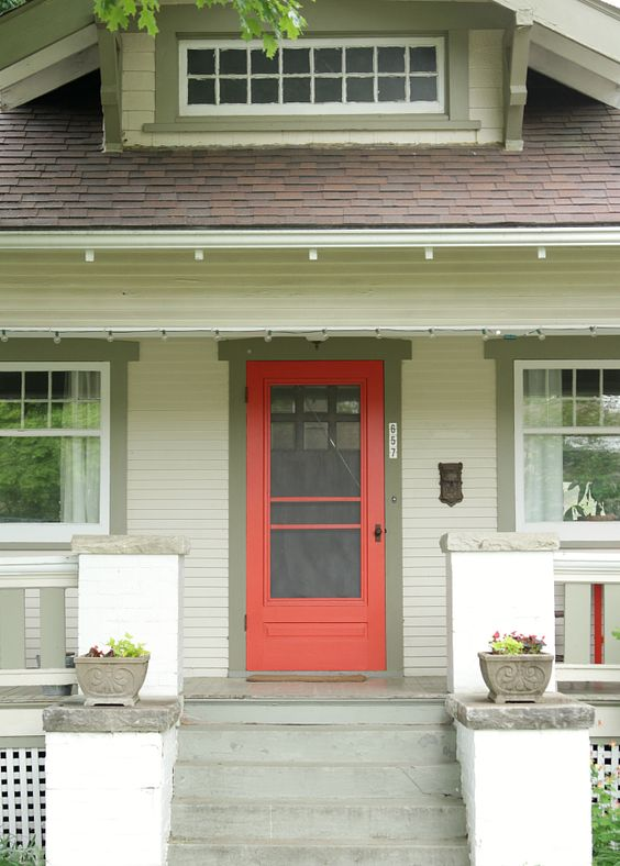 red front doors  poppies and the shutter on pinterest