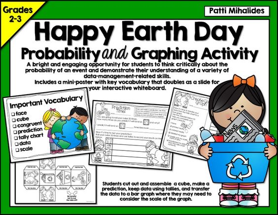 This product presents your students in second and third grades with a very engaging opportunity to practice both their prediction and graphing skills. This is a great activity to use at a Math center or to support your probability or graphing unit..
