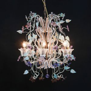 Large Multicolour Chandelier perfect for children's playroom