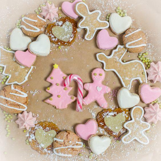 Weihnachtsplätzchen, Weihnachtskekse, Ausstechplätzchen, Ausstechkekse