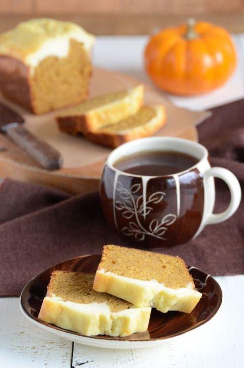 simply-divine-creation:  An Edible Mosiac  Pumpkin & Cheese Spice Bread