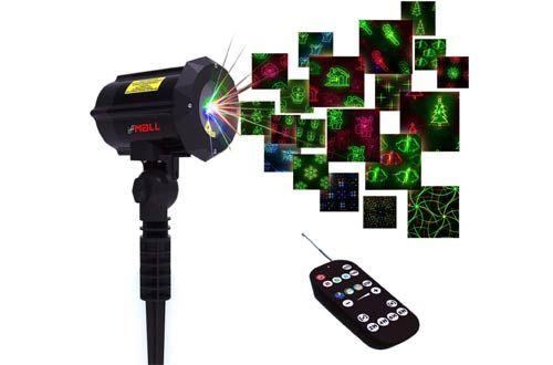 Top 10 Best Indoor Outdoor Star Shower Motion Laser Lights Reviews Laser Christmas Lights White Laser Christmas Lights Shower