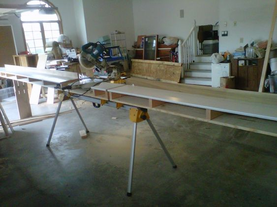 My Started Custom Modified Miter Saw Stand Img00164