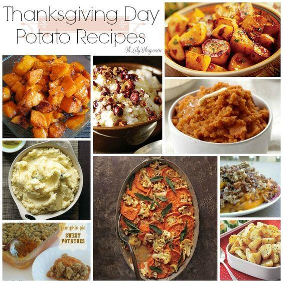 Thanksgiving Potato Recipes