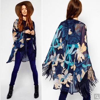 Casual Chiffon Kimono