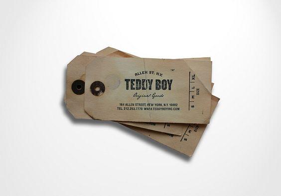 teddy boy tag