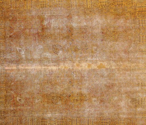Vintage Handgeknüpfte alfombra  Patchwork Wunderschöner Perser Teppich 316 x 273