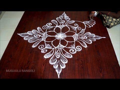 Rangoli Free Hand Easy Easy Free Hand Rangoli Free Hand Designs