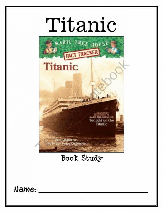 magic tree house titanic pdf