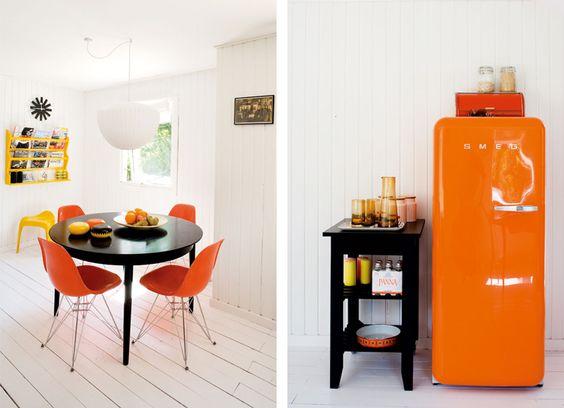 orange + white [heart that smeg]