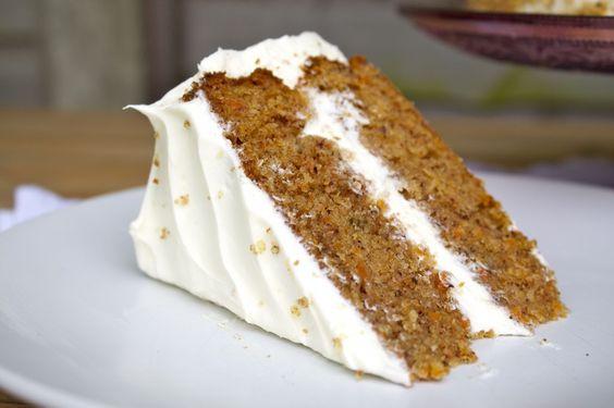 Carrot Cake - Sirope de Fresa
