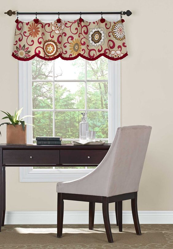 Curtains Ideas 36 inch cafe curtains : AmazonSmile: Simplicity Creative Patterns 1383 Valances for 36 ...