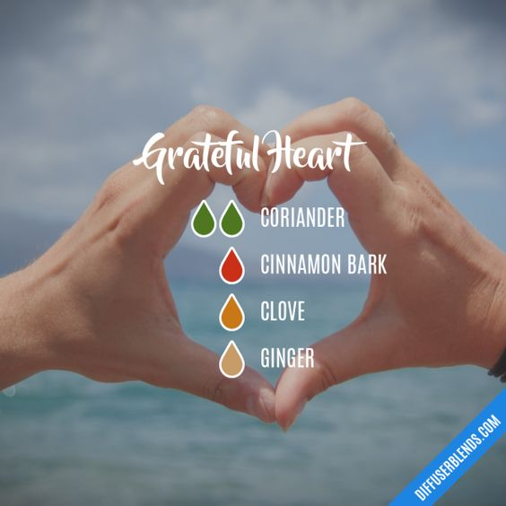 Grateful Heart - Essential Oil Diffuser Blend
