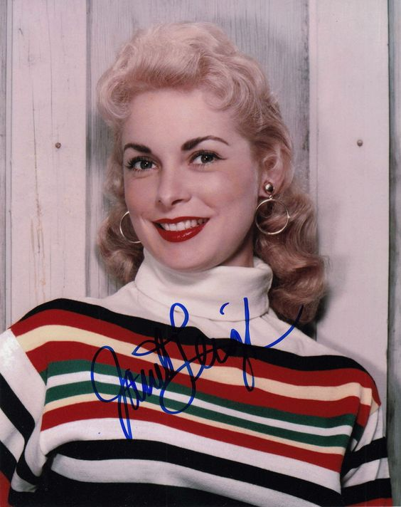 Signed Original Color Photo of Janet Leigh of 1950's Films | eBay