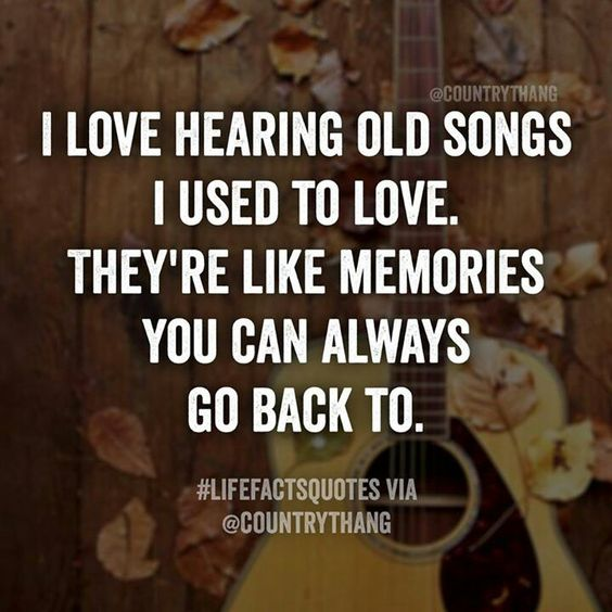 Live those songs