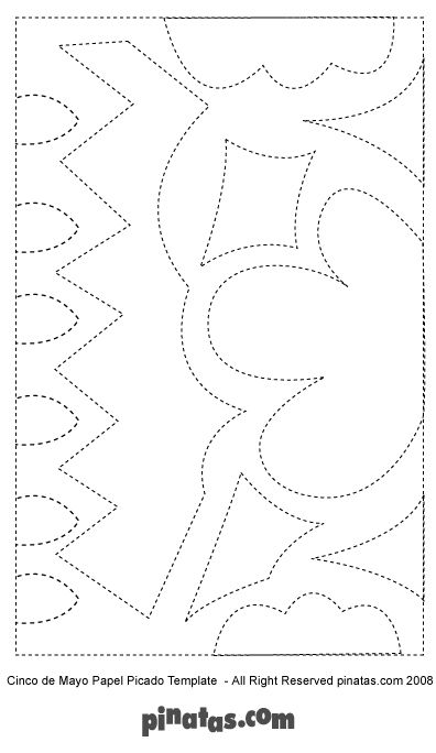 papel picado templates art in general pinterest cool patterns streamers and cases. Black Bedroom Furniture Sets. Home Design Ideas