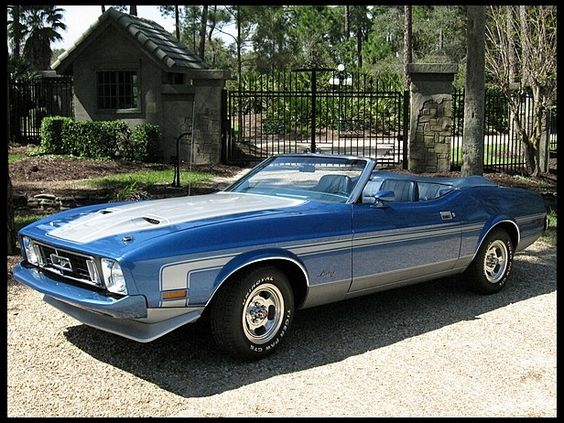 1973 ford mustang convertible ragtop pony badass pinterest ponies ford mustang. Black Bedroom Furniture Sets. Home Design Ideas