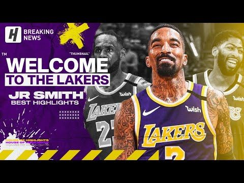 Jr Smith Is Back Best Highlights Clutch Shots Welcome To Los Angeles Lakers Youtube In 2020 Los Angeles Lakers Lakers Los Angeles Lakers Basketball