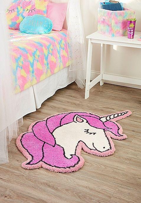 Unicorn Bath Mat For Girls Justice Unicorn Bedroom Decor Unicorn Room Decor Unicorn Bedroom