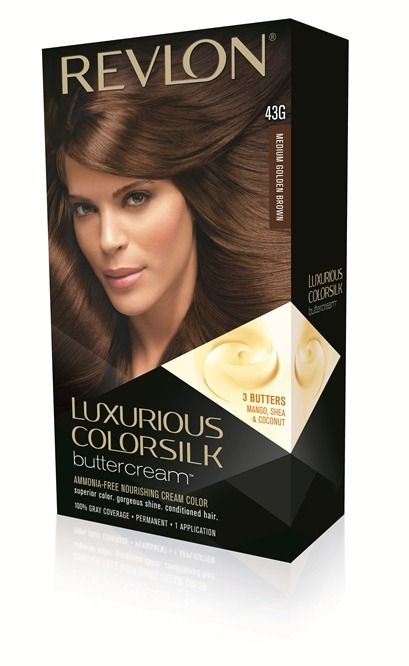 Revlon Luxurious ColorSilk Buttercream Haircolor in Medium Golden ...Revlon Luxurious Colorsilk Buttercream Light Golden Brown