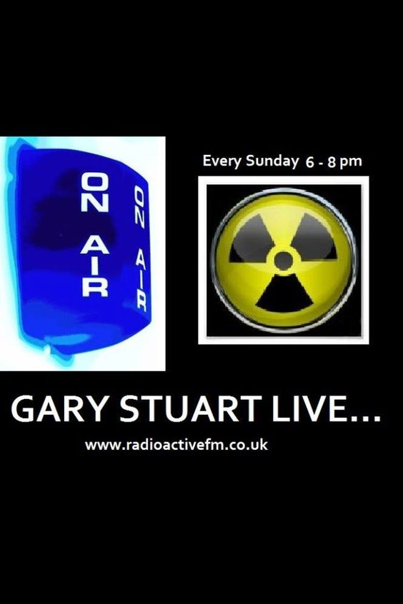 Live every Sunday 6-8pm www.radioactivefm.co.uk