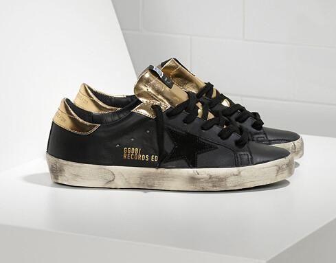 Golden Goose Superstar Records Sneakers