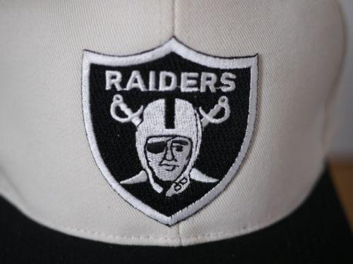 NEW Vintage 1970s LA OAKLAND RAIDERS Snapback DEADSTOCK Football Hat CAP Adjust