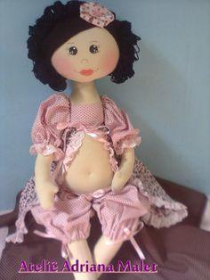 molde de boneca de pano gravida - Google Search