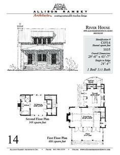 allison ramsey river house plans - Google Search