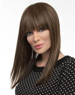 Taryn (Exclusive) Monofilament Human Hair Blend Wig by Envy - Monofilament Wigs - Best Wig Outlet
