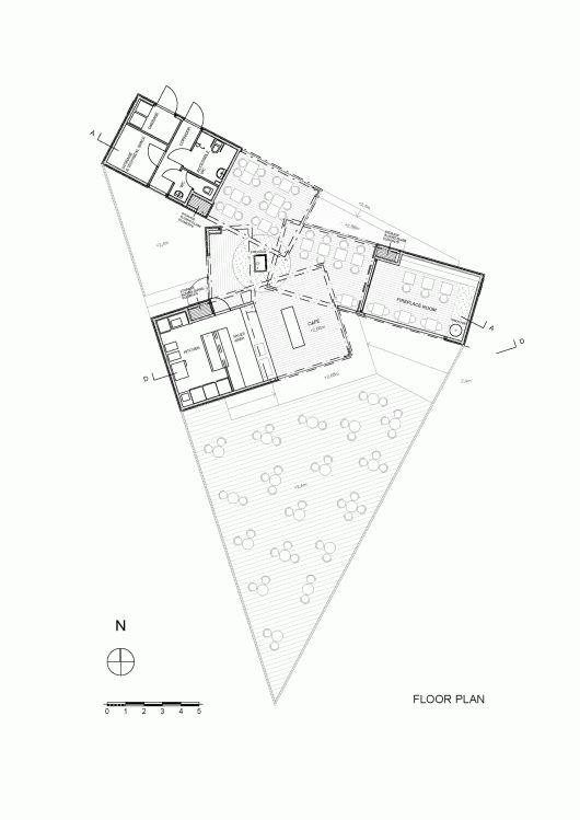 floor plan cafe birgitta talli architecture and design architecture drawing floor plans