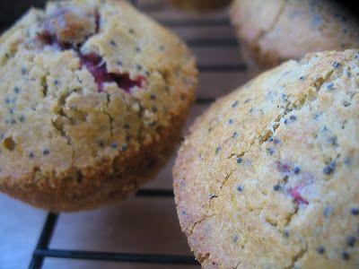 Raspberry Poppyseed Muffins
