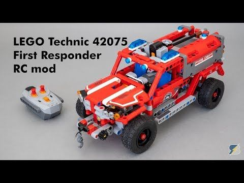 Lego Technic 42075 First Responder Rc Mod With Building Instructions Youtube Lego Technic Building Instructions Lego