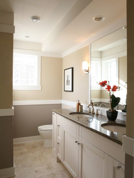 Bathroom design pictures remodel decor and ideas page for Half bathroom ideas pinterest