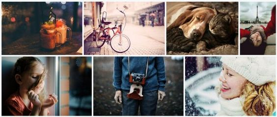Redes sociais de fotos