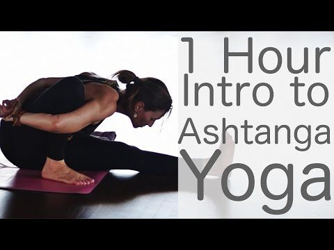 Ashtanga Yoga one hour intro class - Yoga with Lesley Fightmaster - YouTube