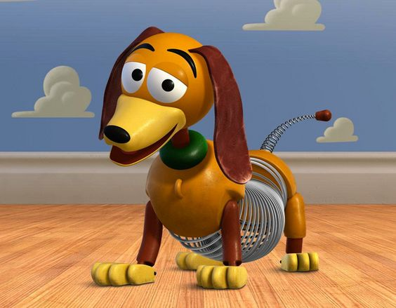 """""""Slinky"""" the Doxie for Pixar's Toy Story"""