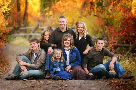 From personal experience, I find that there is no way a family can be as perfect as this Family Portrait but I still hope to have a picture this good of my fucked up family one day.